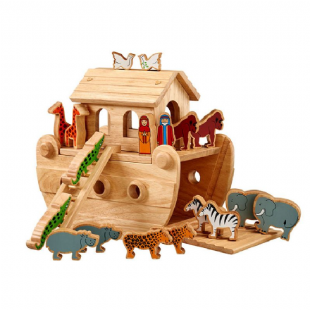 Lanka Kade Junior Noah's Ark with Half Painted Animals